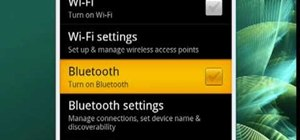 Turn on Bluetooth on your Android phone