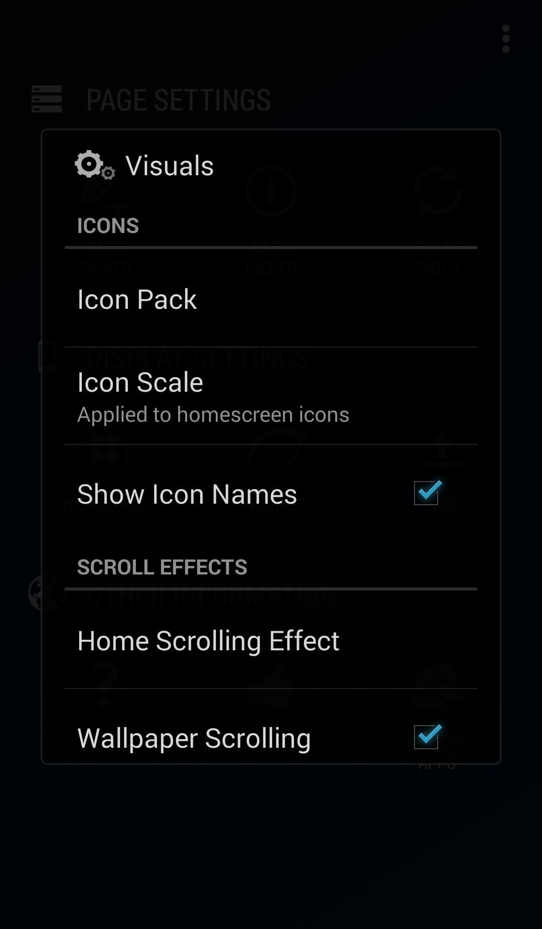 Turn Apps into Home Screen Pages on Android