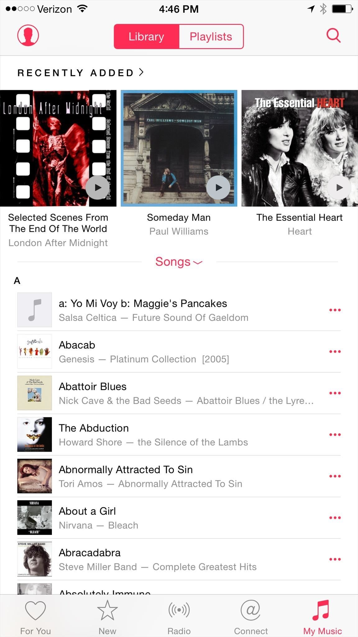 How to Shuffle All Songs in Apple's New Music App in iOS 8.4
