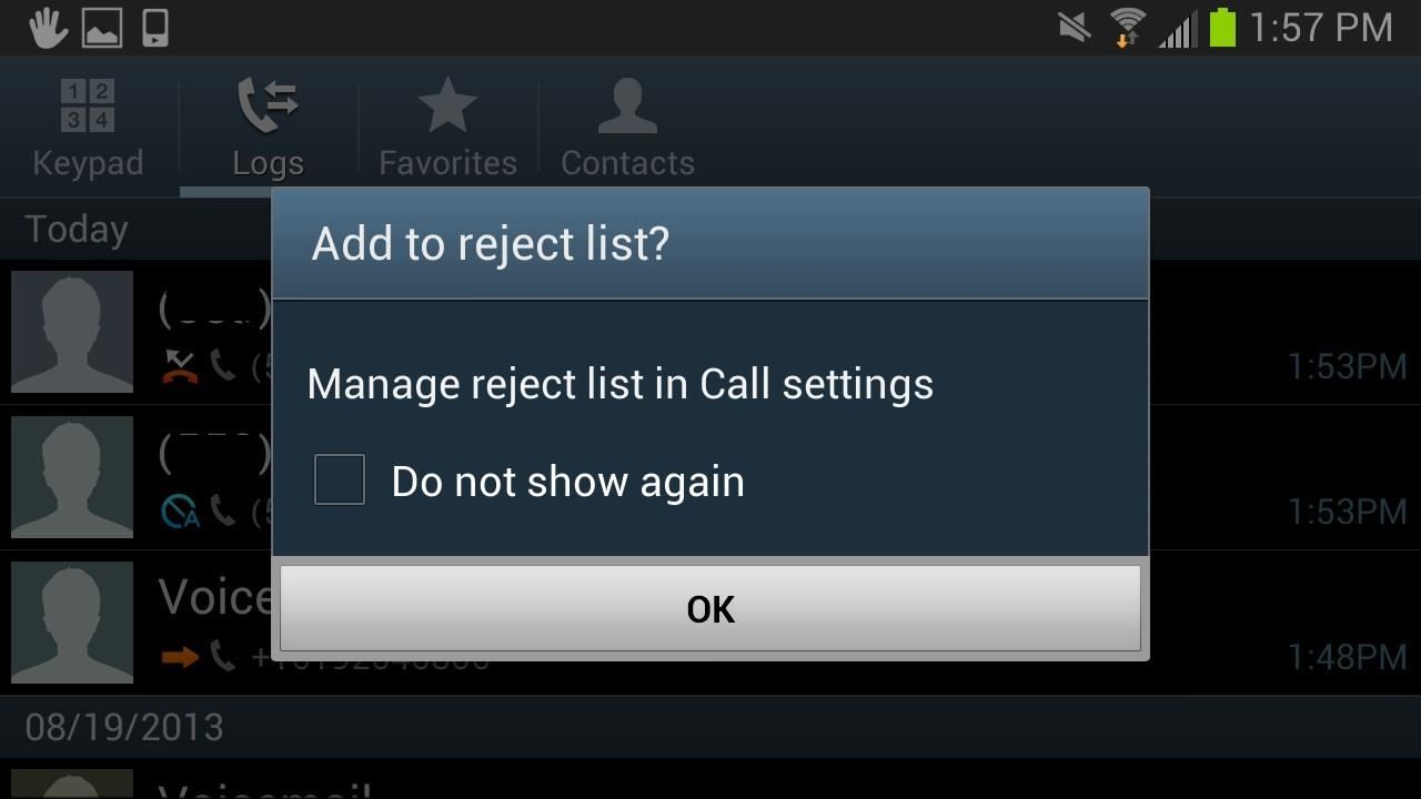 3 Foolproof Ways to Block or Ignore Annoying Callers on Your Samsung Galaxy S3