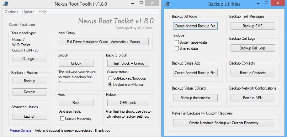 How to Root Your Nexus 7 Tablet Running Android 4 4 KitKat (Windows