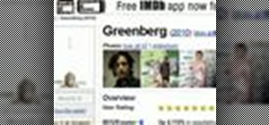 Add an IMDB search function to the Chrome web browser
