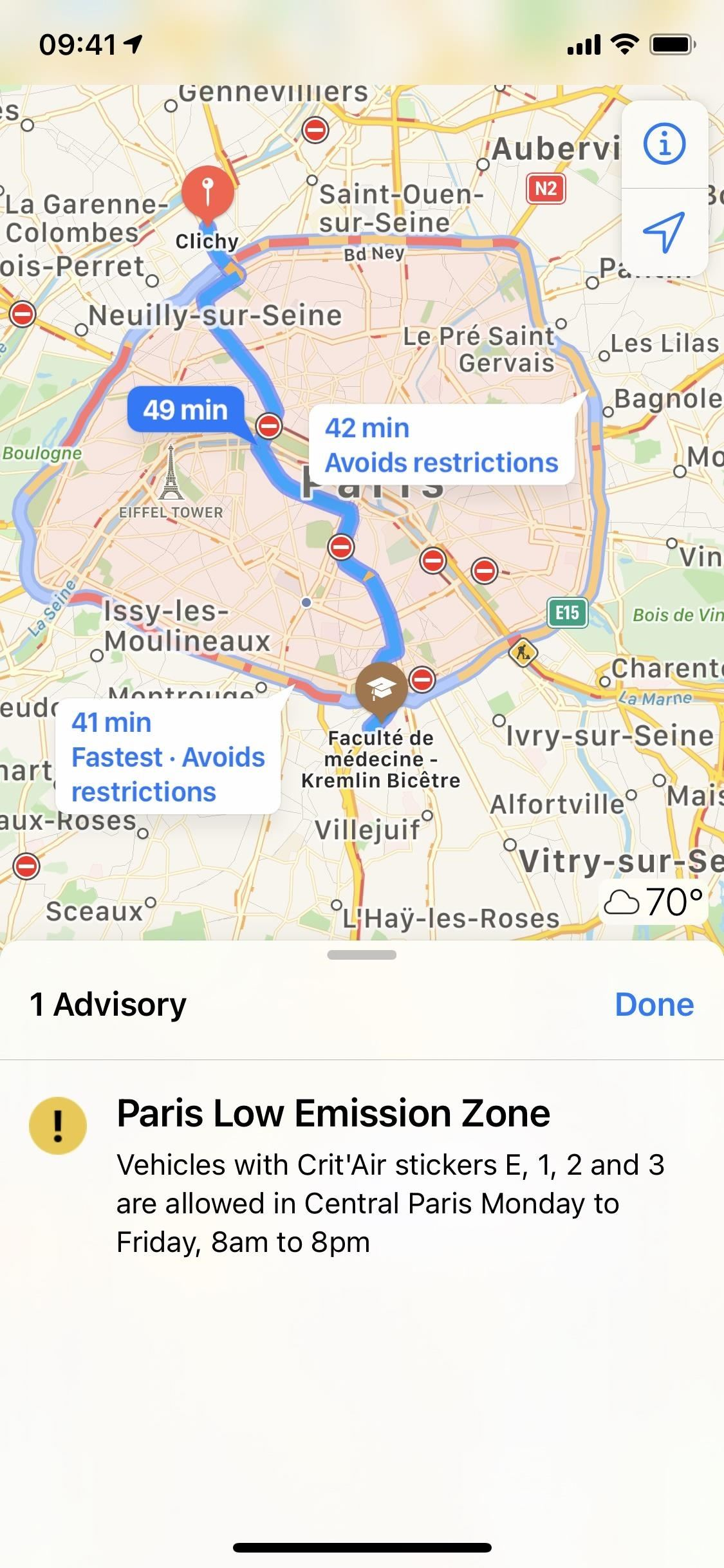 16 New Apple Maps Features for iPhone in iOS 14, Including Cycling Routes, New Widgets & City Guides