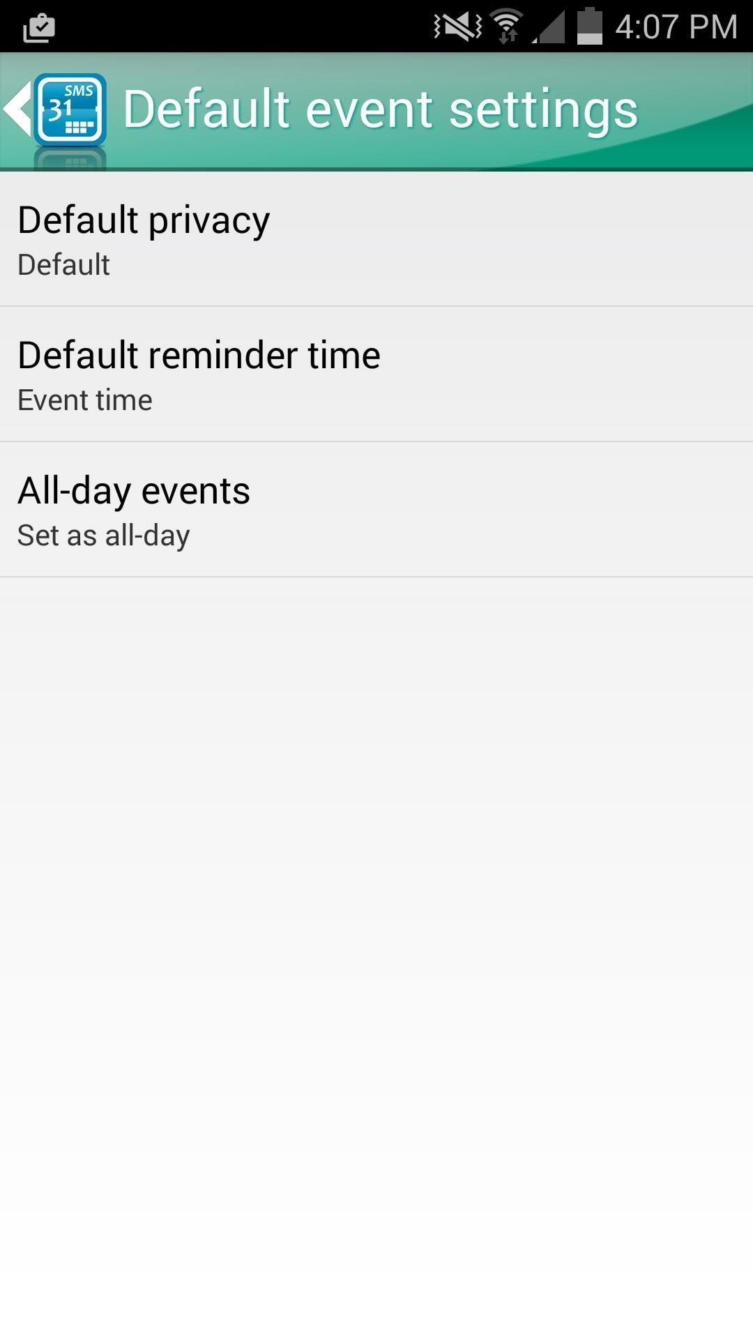 Automatically Create Calendar Events from Incoming Text Messages on Android