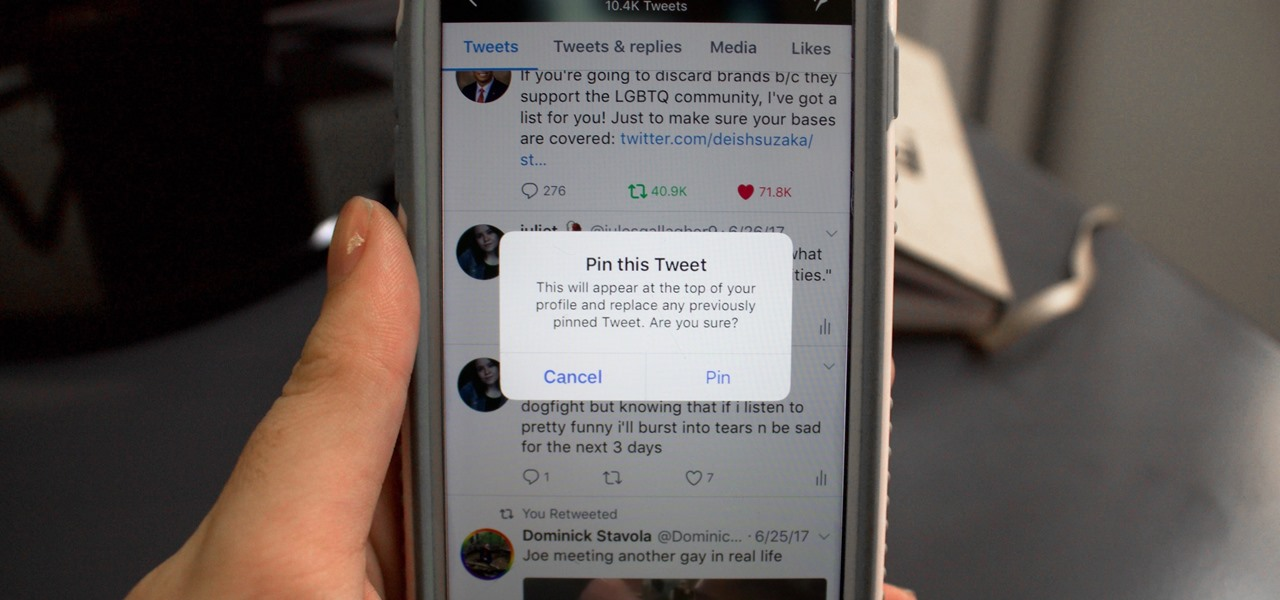 How to Permanently Pin a Tweet to the Top of Your Twitter Profile
