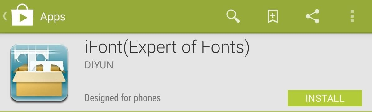 How to Set Custom Fonts for Apps, Settings, & More on Your Nexus 7 Tablet