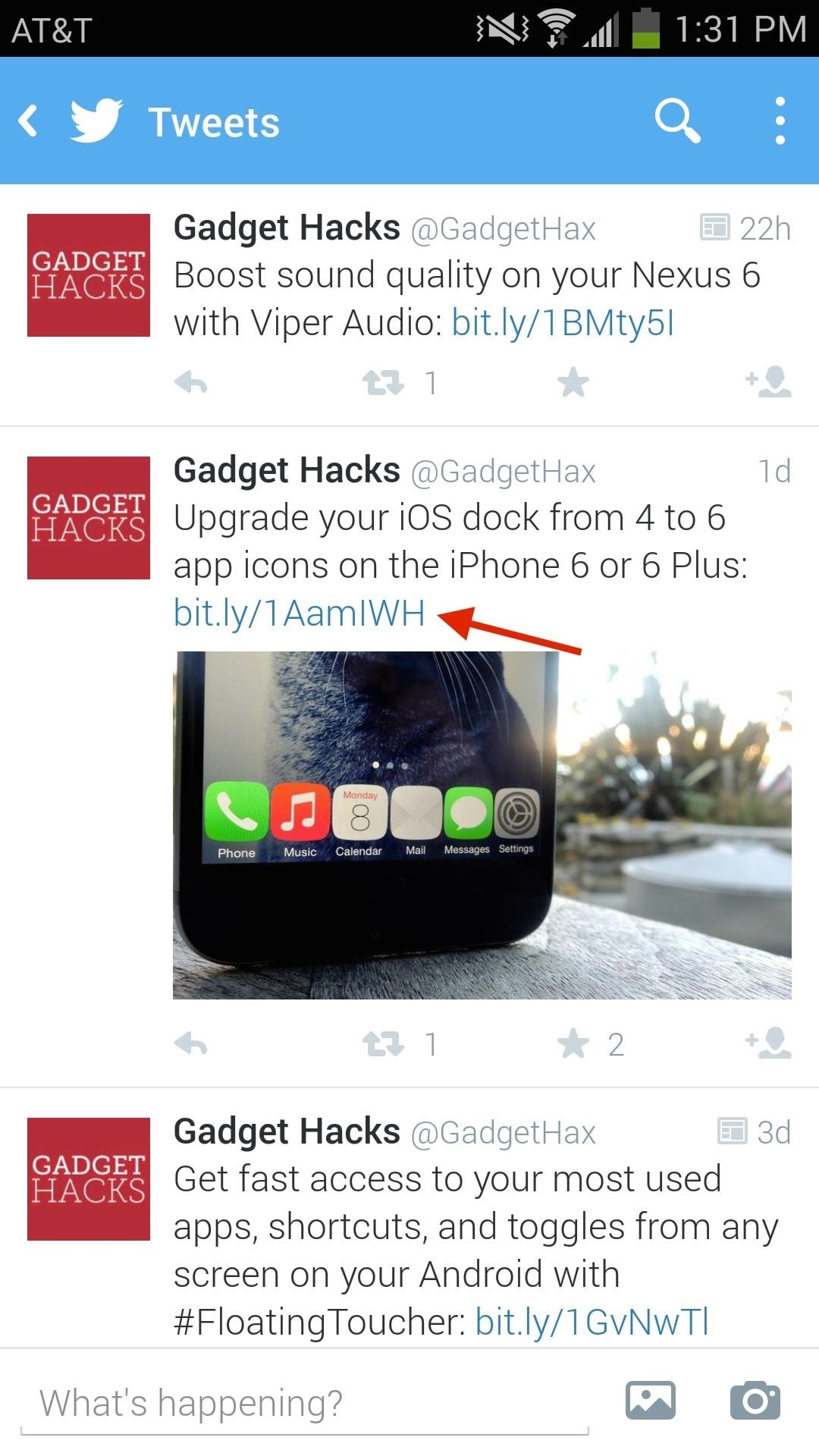 Open Links from Twitter & Other Apps into a Floating Browser on Samsung Galaxy Devices