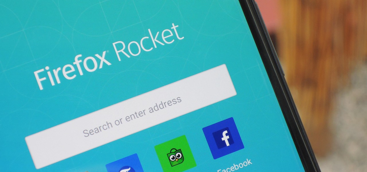Use Firefox Rocket to Browse the Web Faster & Save Data on Any Android