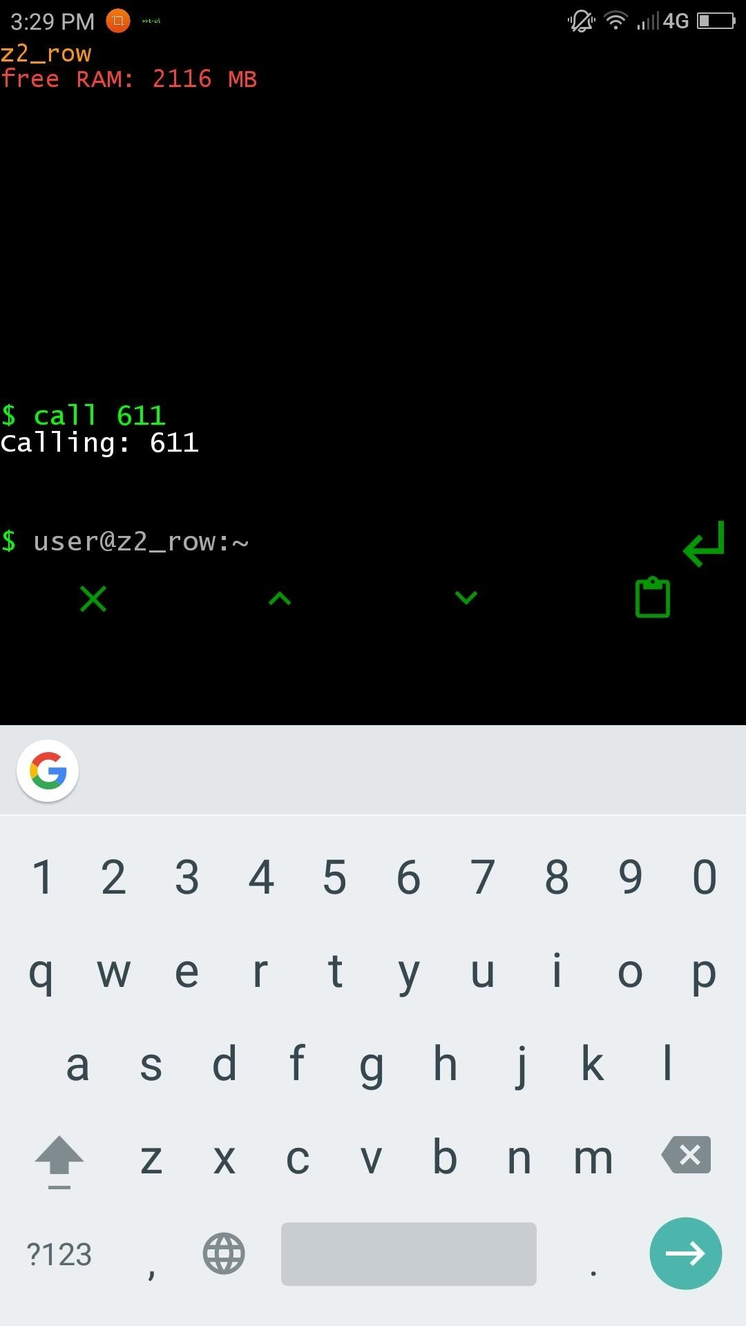 This Linux-Style Launcher Turns Your Home Screen into a Command Prompt