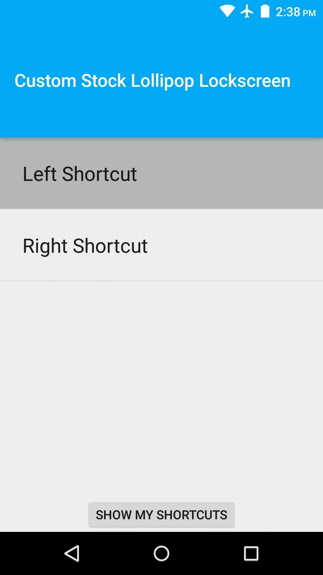 How to Get Custom Lock Screen Shortcuts on Android Lollipop