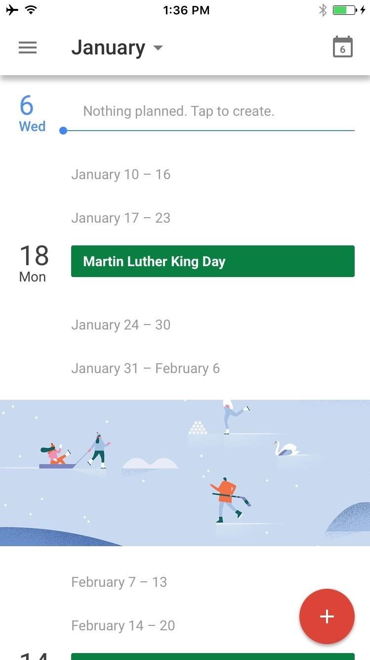 Martin luther king android apps on google play -  1 Google Calendar On Android 2 Google Calendar On Ios