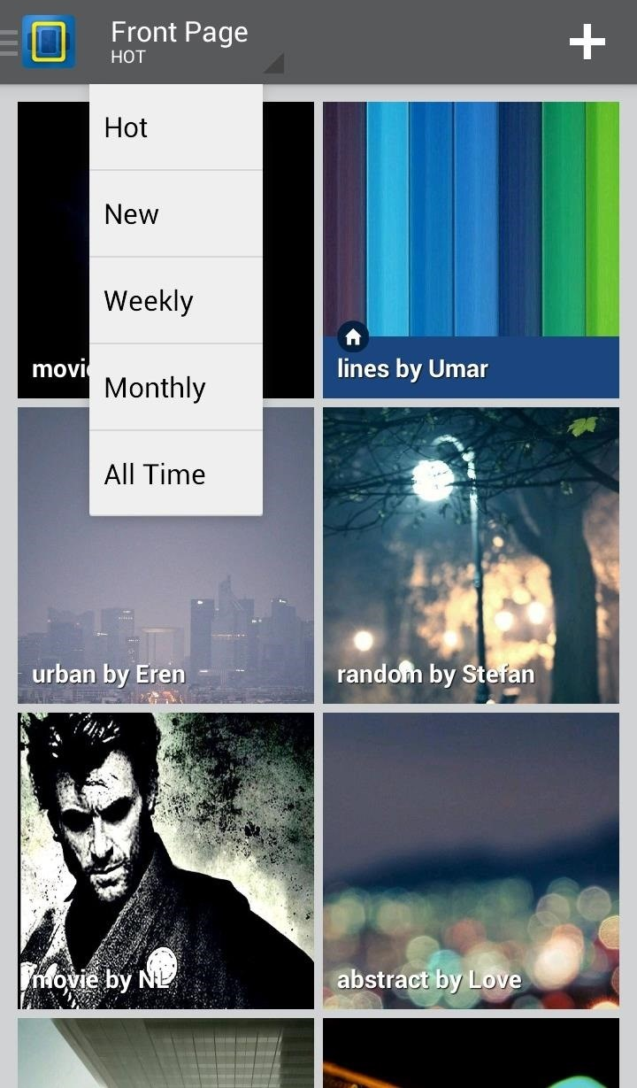 How to Get Constantly Changing Wallpapers on Your Galaxy S3 That Adapt to Your Likes