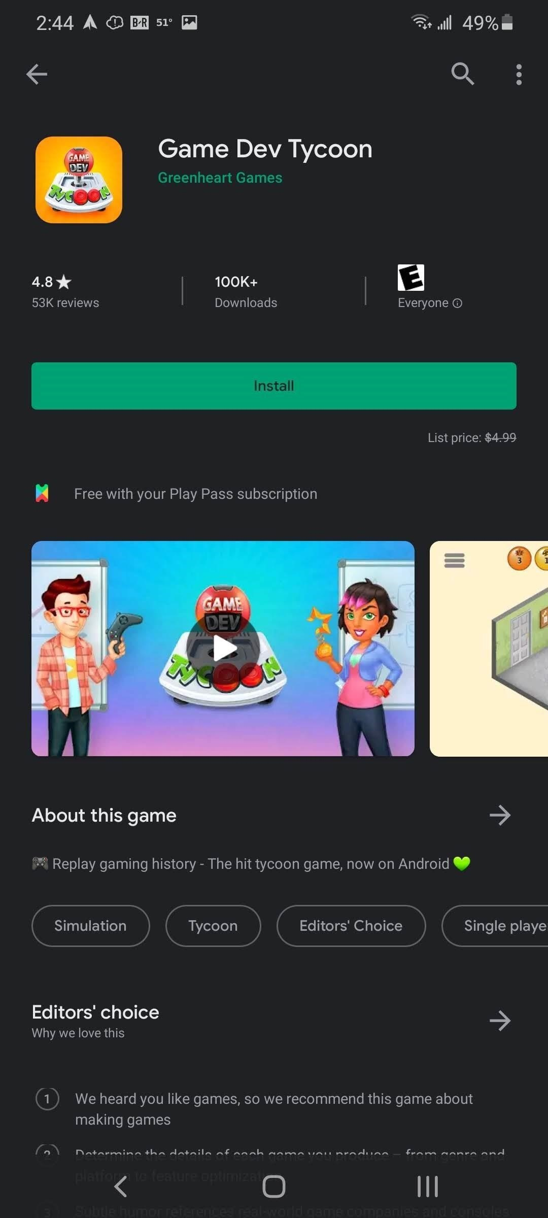 Google Play Pass Is the Perfect Quarantine Companion for Android Users