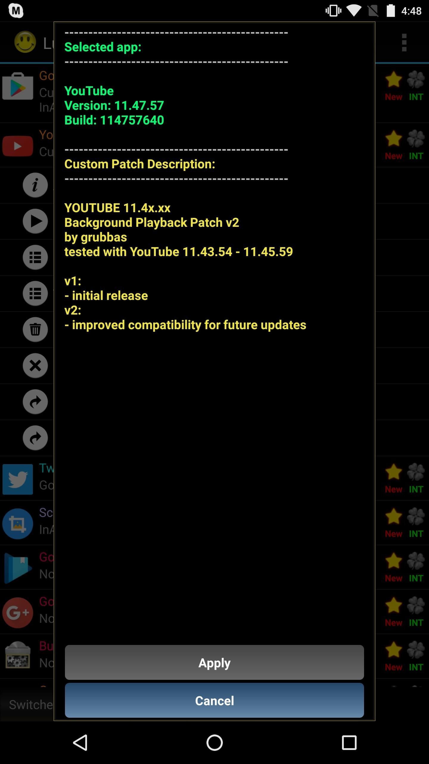Enable YouTube Background Playback for Free on Android Nougat