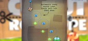 Beat level 1-18 in Cut the Rope HD for the Apple iPad