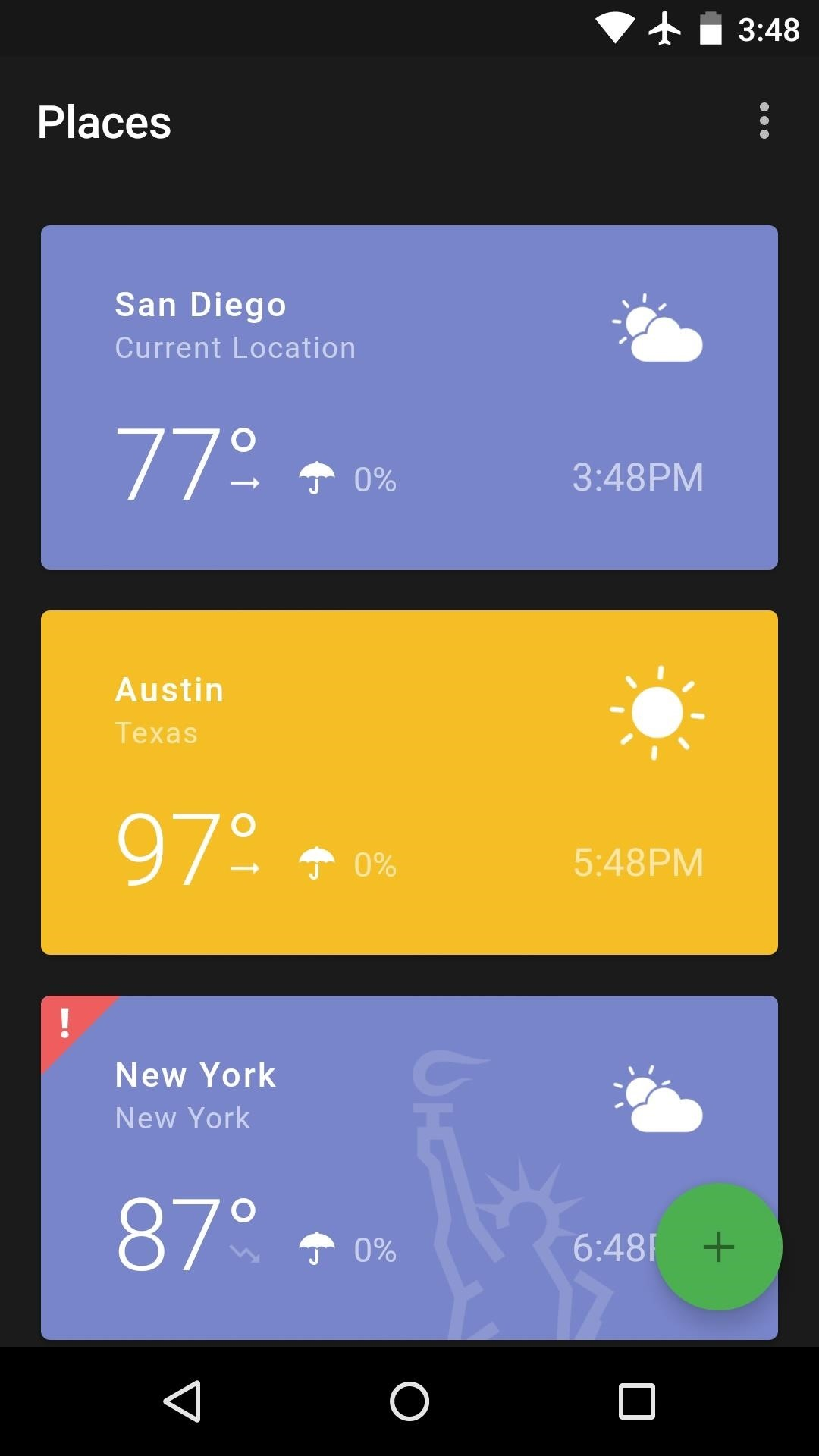 the 7 best weather apps for android iphone smartphones. Black Bedroom Furniture Sets. Home Design Ideas