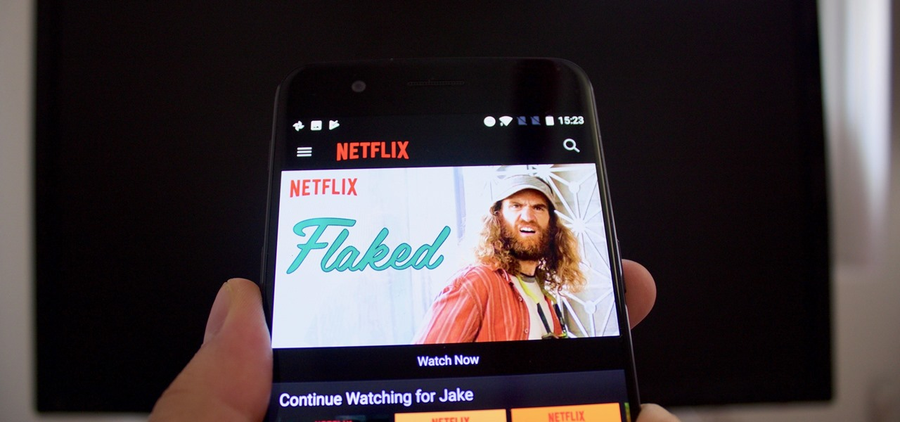 How to hook my phone to my tv to watch netflix