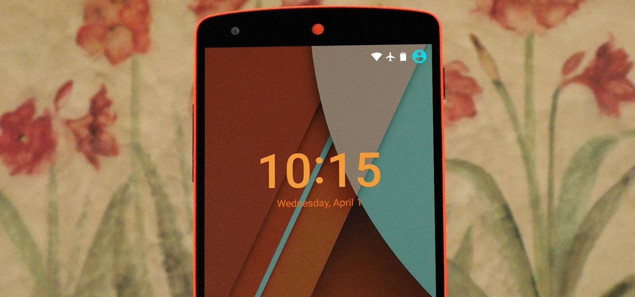 Theme Your Lock Screen on Android Lollipop