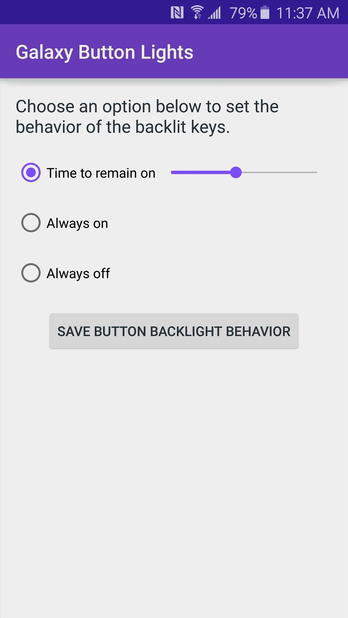 How to Change Backlight Duration for the Back & Recents Keys on the Galaxy S6