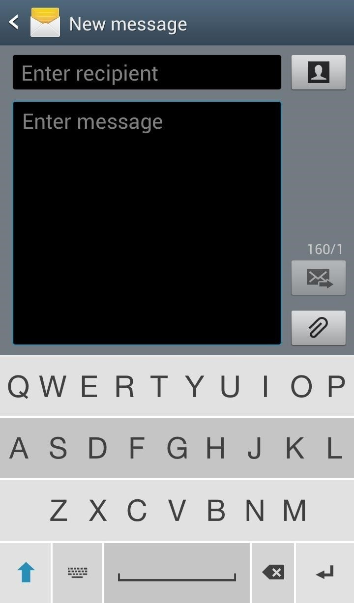 Use This Invisible Keyboard to See More of Your Screen When Typing on a Samsung Galaxy S3