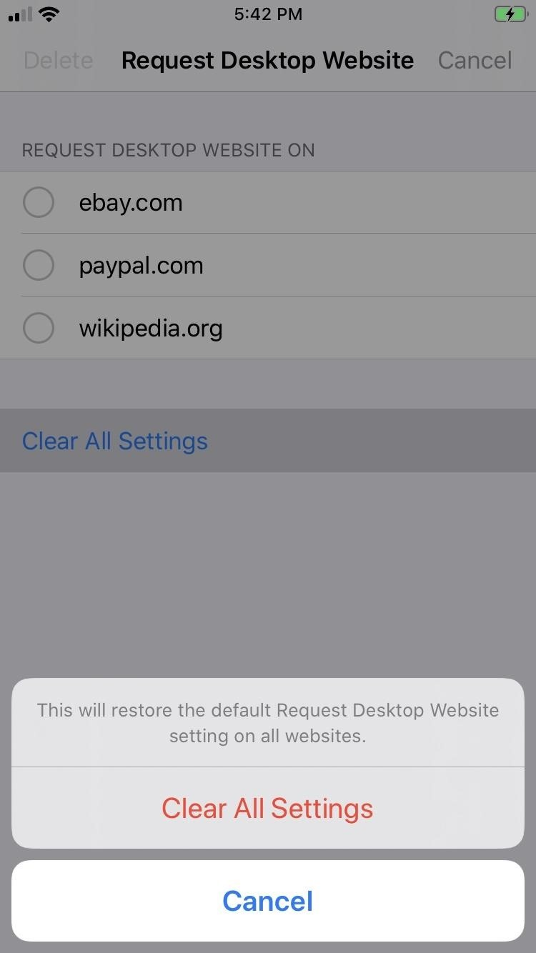 How to Force Safari to Use Desktop View by Default for Specific Sites in iOS 13