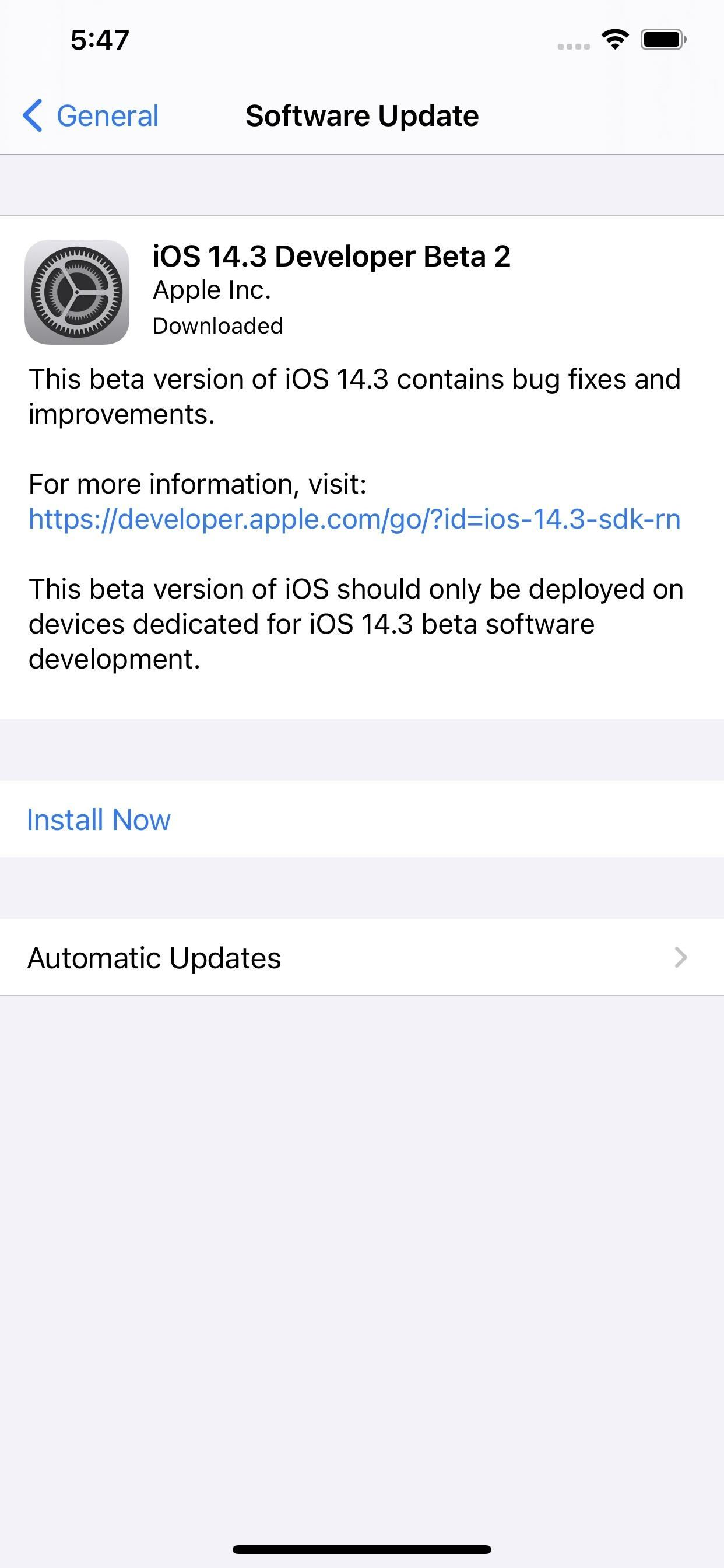 Apple is releasing iOS 14.3 Beta 2 for developers and public beta users