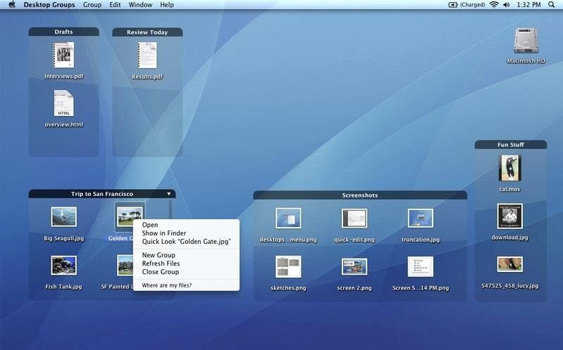 Enjoyable How To Organize Your Cluttered Mac Desktop With Desktop Interior Design Ideas Philsoteloinfo