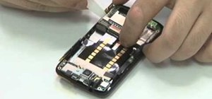 Disassemble an HTC Desire Google Android smartphone