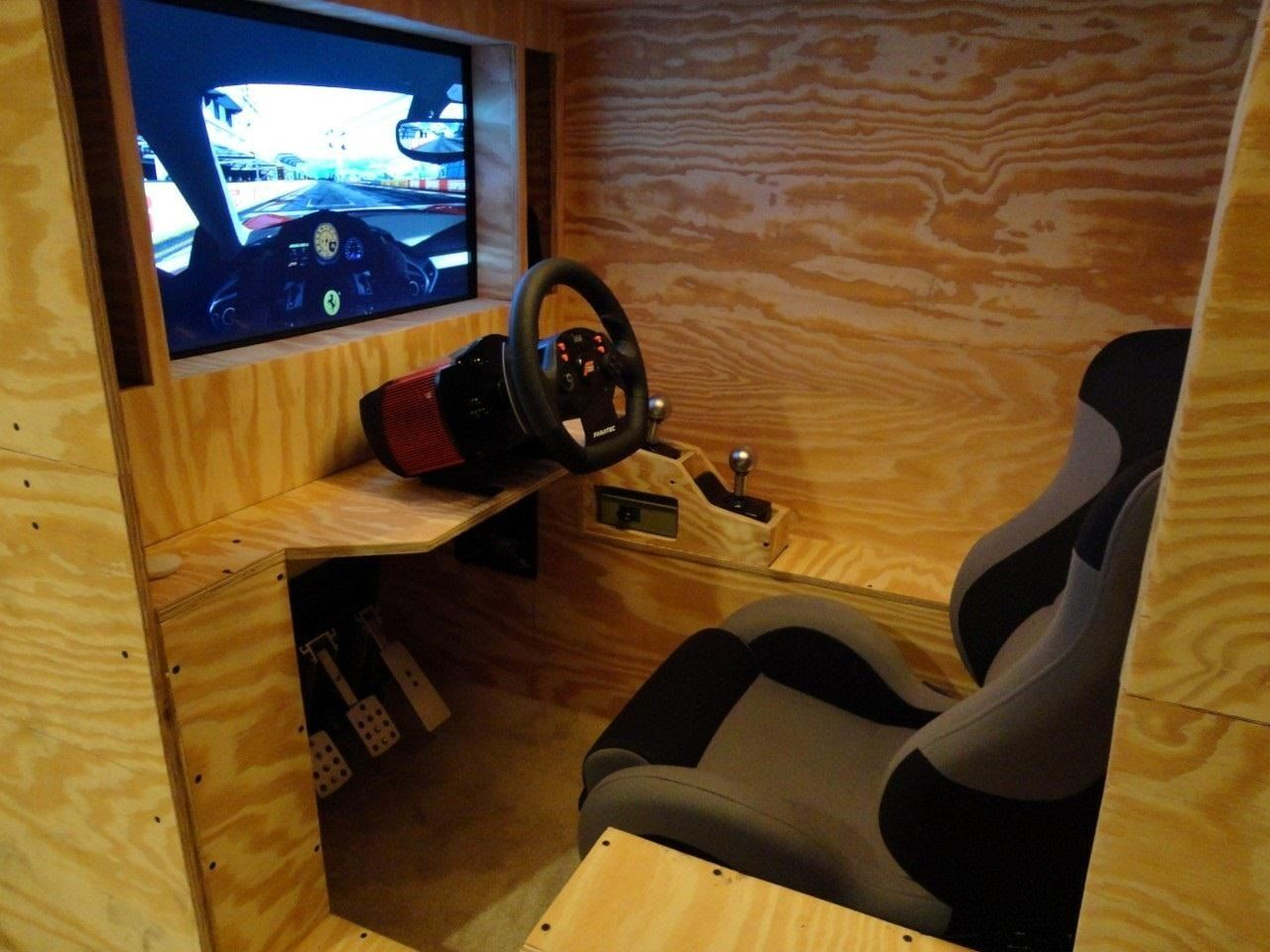 Satisfy Your Need for Speed with This DIY Arcade-Style Racing Cockpit