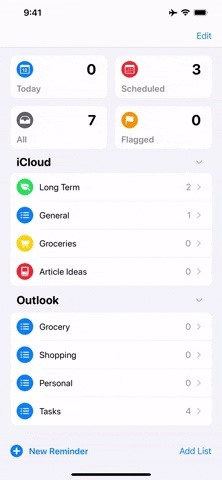 How to Sync Your iPhone Reminders in iCloud & Other Accounts Across All Your Apple Devices