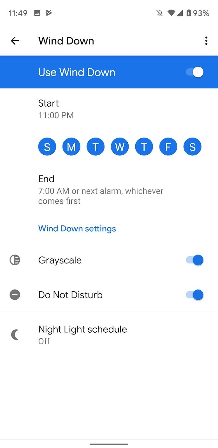 How to Enable Wind Down Mode on Your Google Pixel to Get Better Sleep at Night