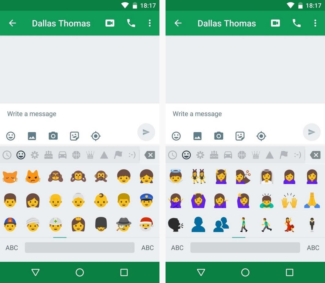 How to Get Android Nougat's All-New Emojis Right Now