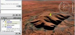 Mark locations in Google Earth