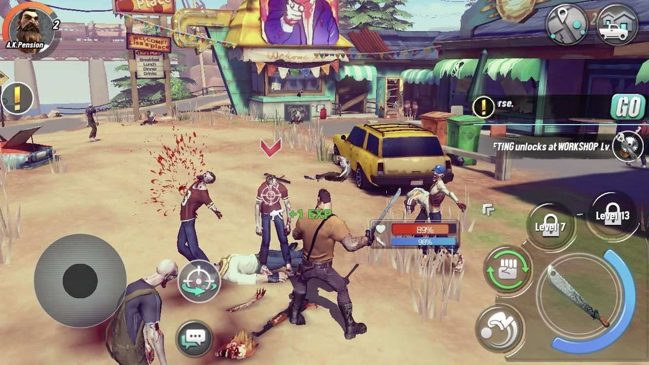 You Can Play Dead Rivals Slaughter Zombies On Your Iphone Right