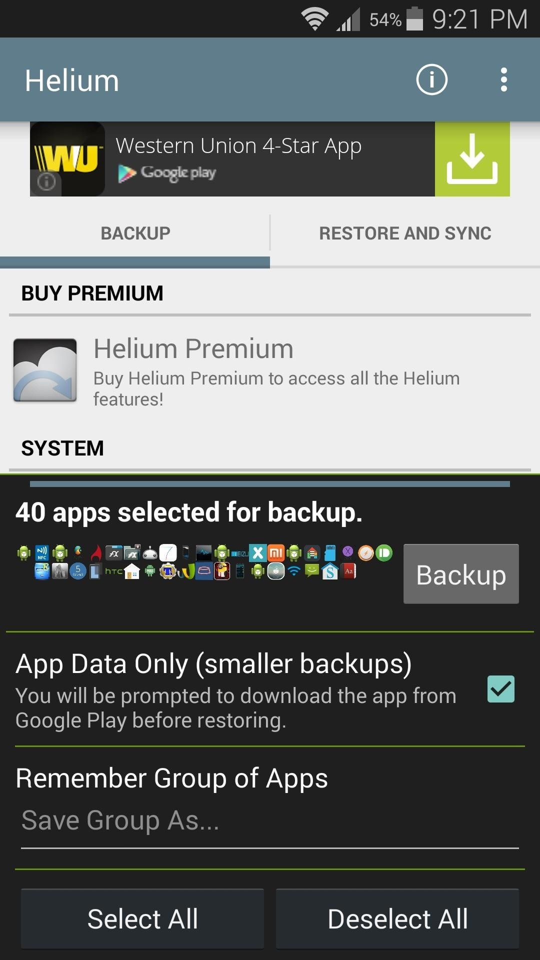 app backup and restore mod apk