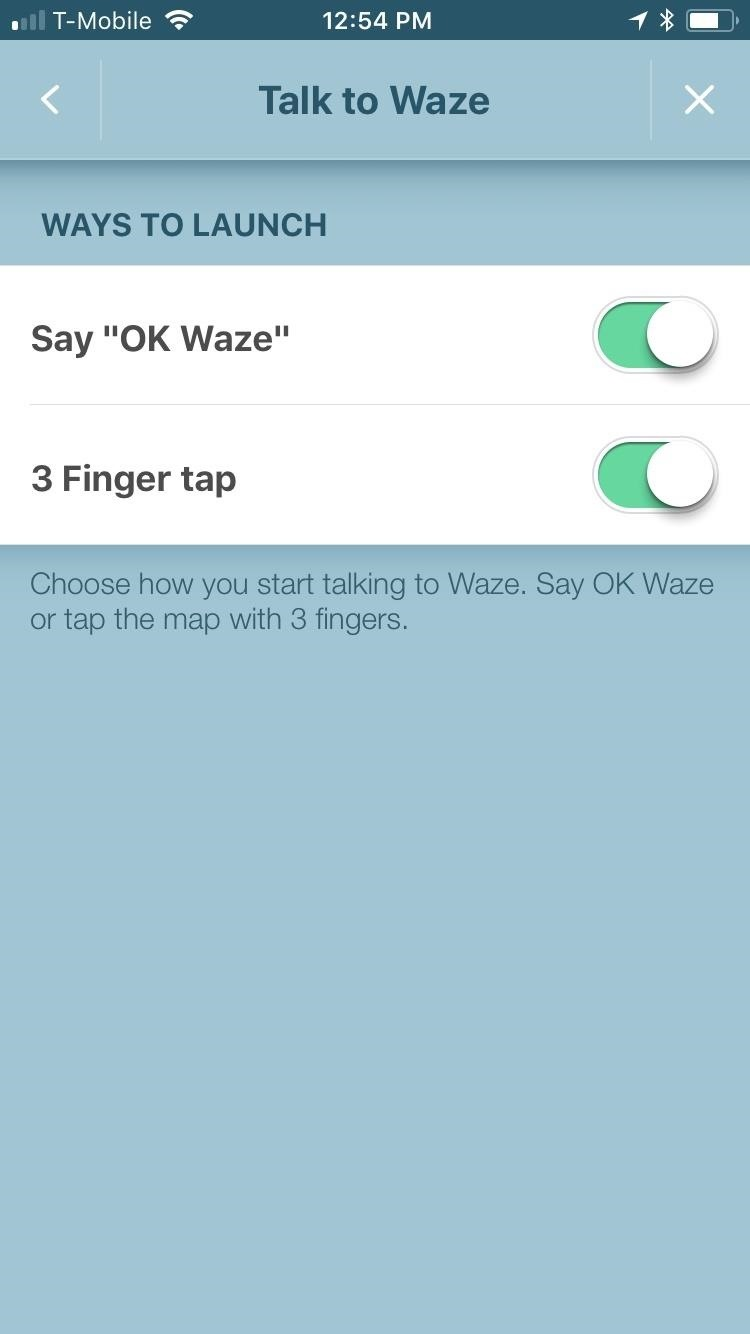 how to use waze for directions