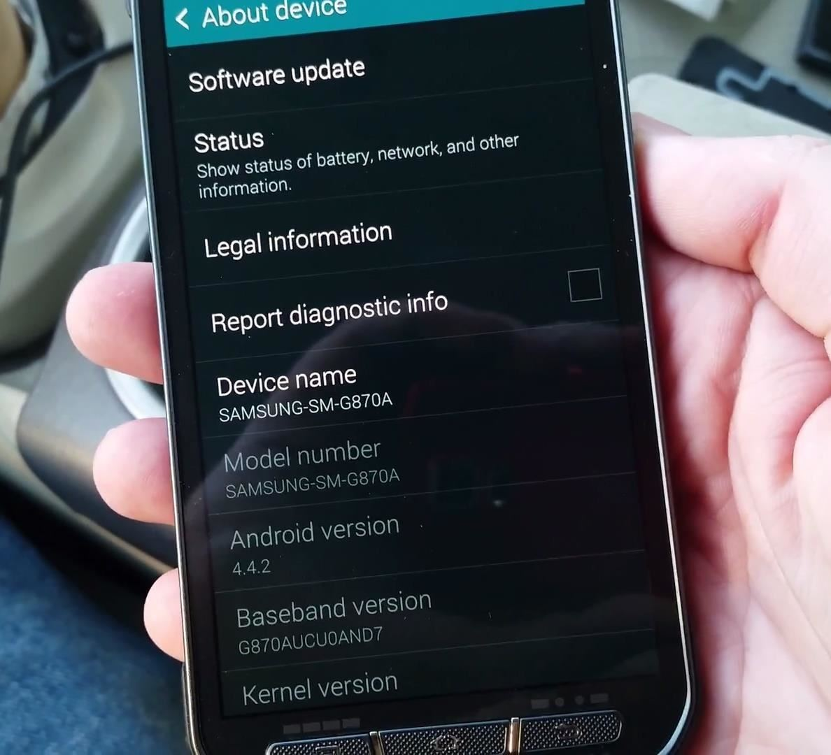 how to clear history on samsung s5 active