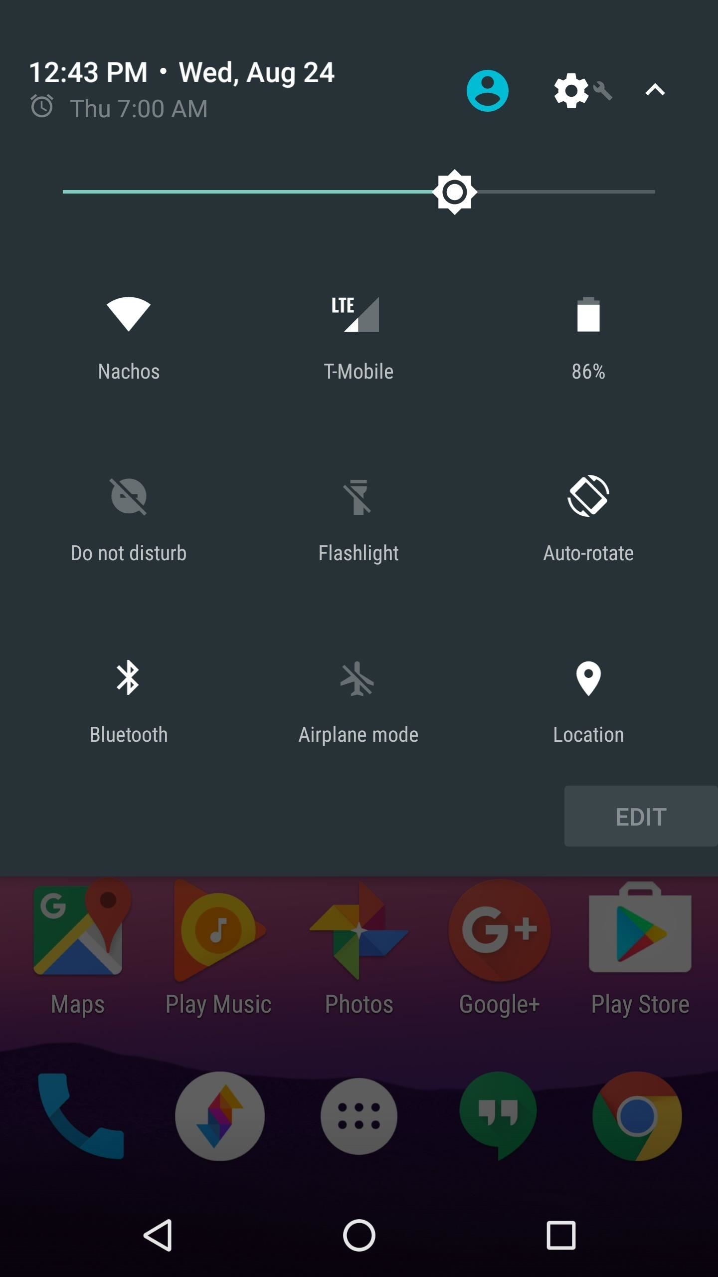 How to Enable the Hidden 'Night Mode' Setting on Android 7.0 Nougat