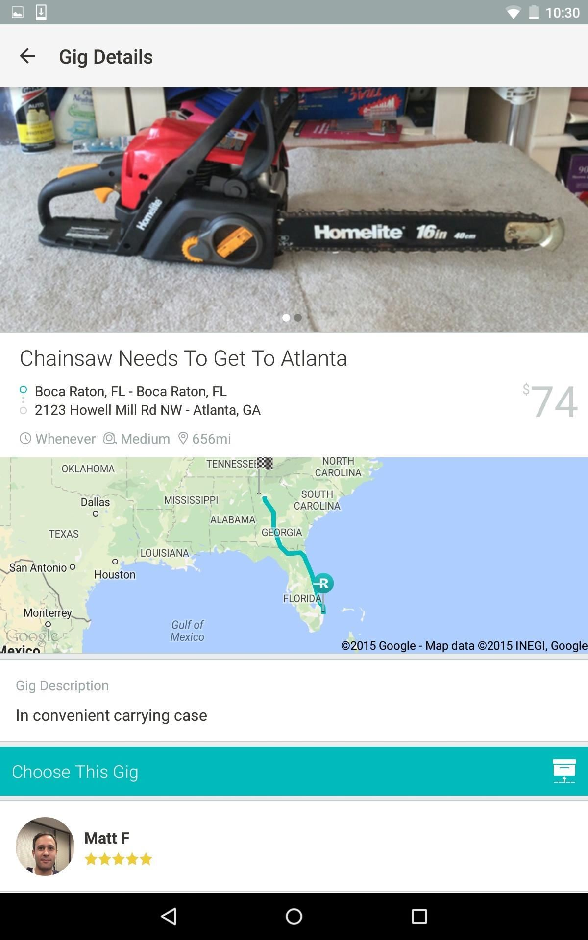 Roadie App Lets You Ship Things Cheaper & Make Money While You're Traveling