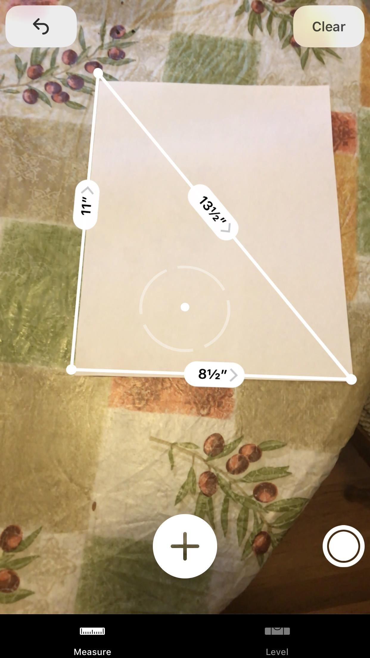 How to Measure Real Objects with Your iPhone in iOS 12