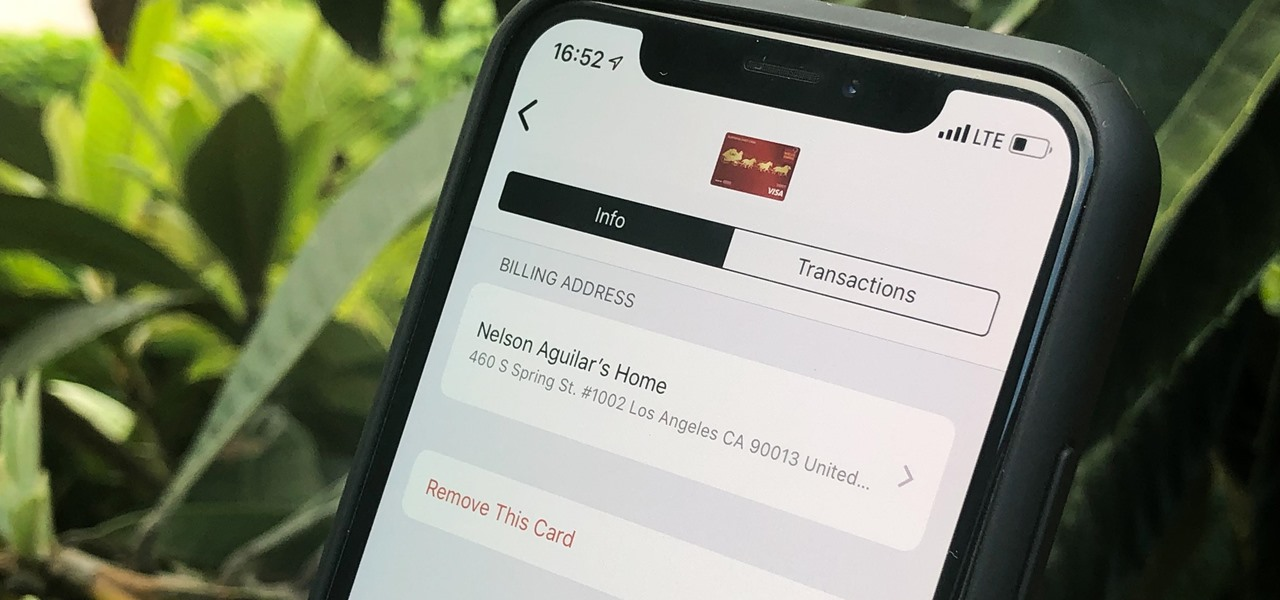 How To: Change Your Billing & Shipping Address for Apple Pay on Your iPhone