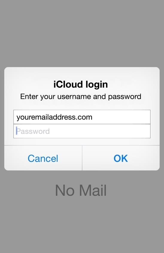 How to Identify Real Login Popups from Fake Phishing Attacks in iOS 8's Mail App