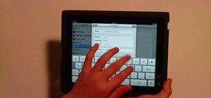 Sync Google Calendar with the Apple iPad Calendar app