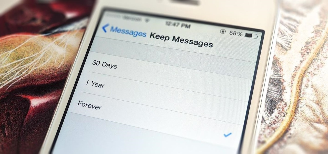 Delete Your Message History Automatically in iOS 8
