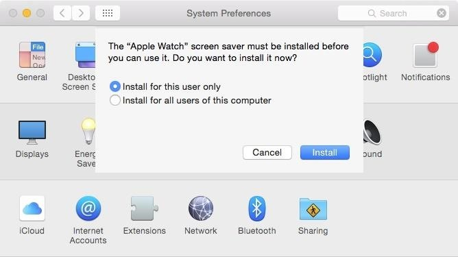 How to Make Your Mac's Screen Saver the Apple Watch Clock Face