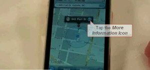 Use the map function on the iPhone 3GS