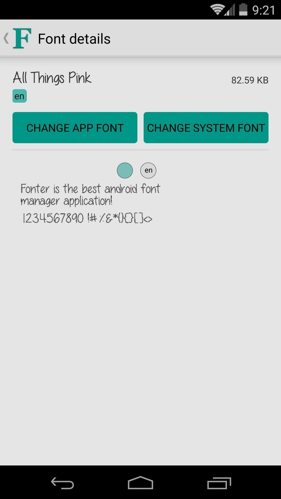 How to Change Fonts on a Per-App Basis for Android