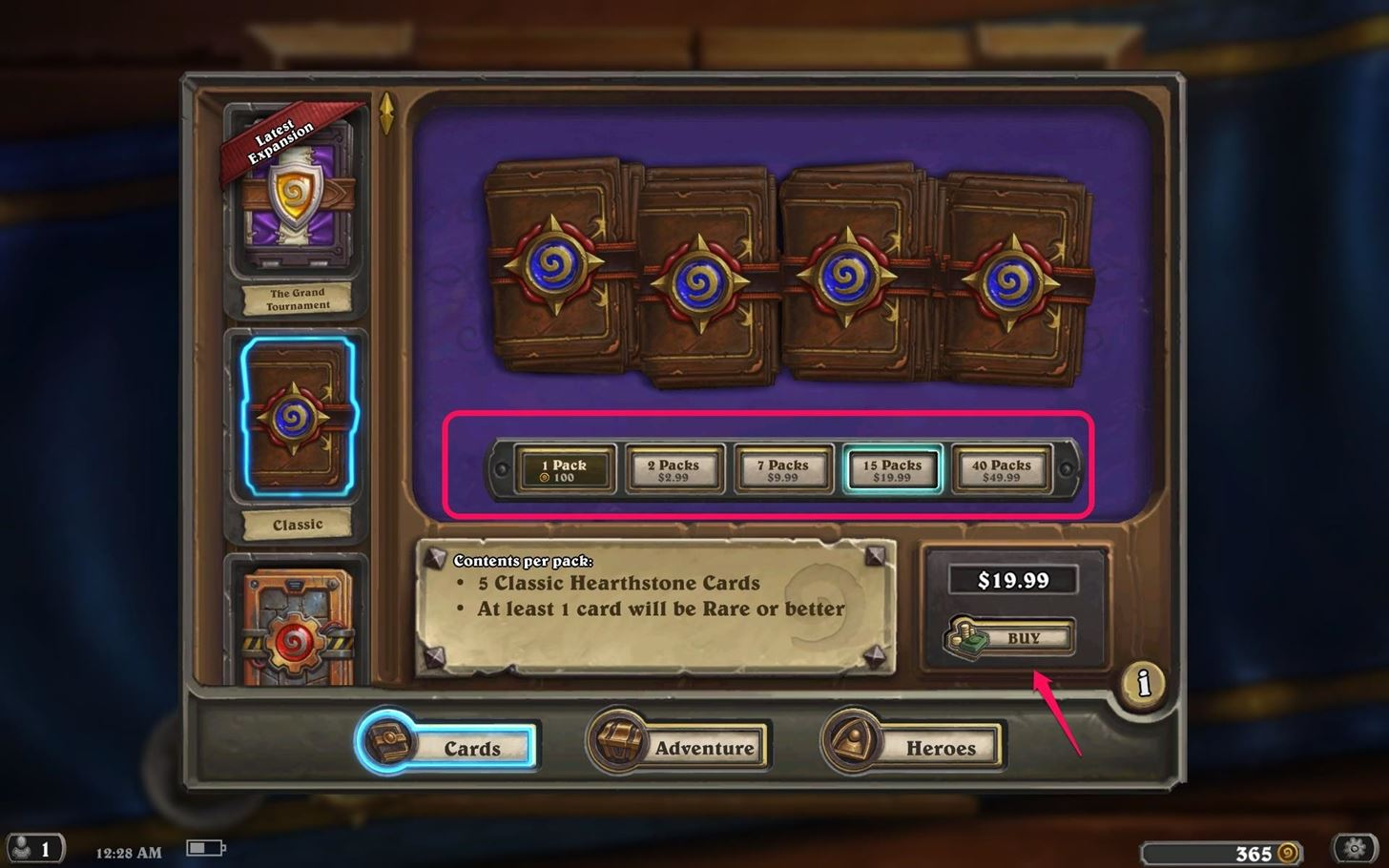 How to Get Cheap Hearthstone Packs