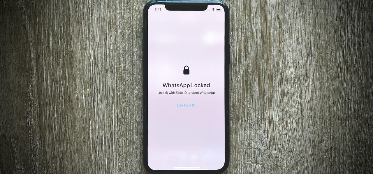 Secure WhatsApp Behind Face ID or Touch ID on Your iPhone to Keep Your Chats Extra Private