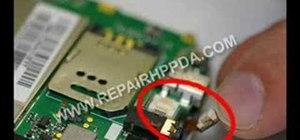 Disassemble an HP iPAQ rw6800 series PDA